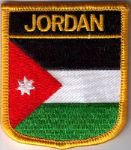 Jordan Embroidered Flag Patch, style 07.